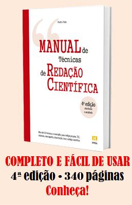 Manual de técnicas de redação científica
